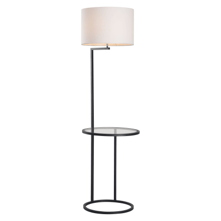 Zuo Modern 50313 White And Black Swift 1 Light Floor Lamp