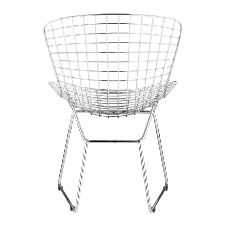 Magnificent Zuo Modern Wire Dining Chair Creativecarmelina Interior Chair Design Creativecarmelinacom