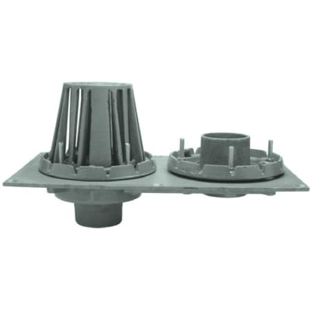 Zurn Rd2130 Nh4 Na 4 Quot No Hub Cast Iron Combination Roof