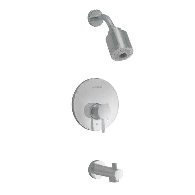 American Standard T064.508.295 Satin Nickel Serin Tub and Shower ...