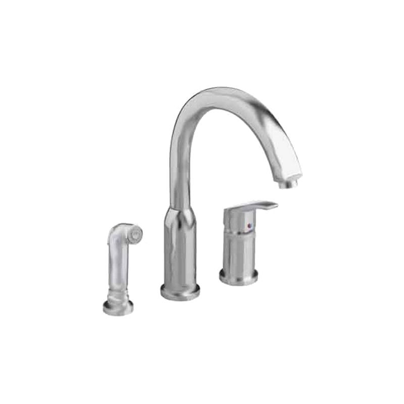 Delicieux American Standard 4101.301.002 Chrome Arch Kitchen Faucet With Side Spray    Faucet.com