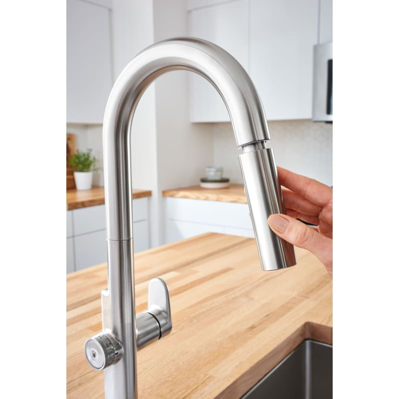 American Standard 4931360 002 Beale Measure Fill Touch Kitchen Faucet Chrome