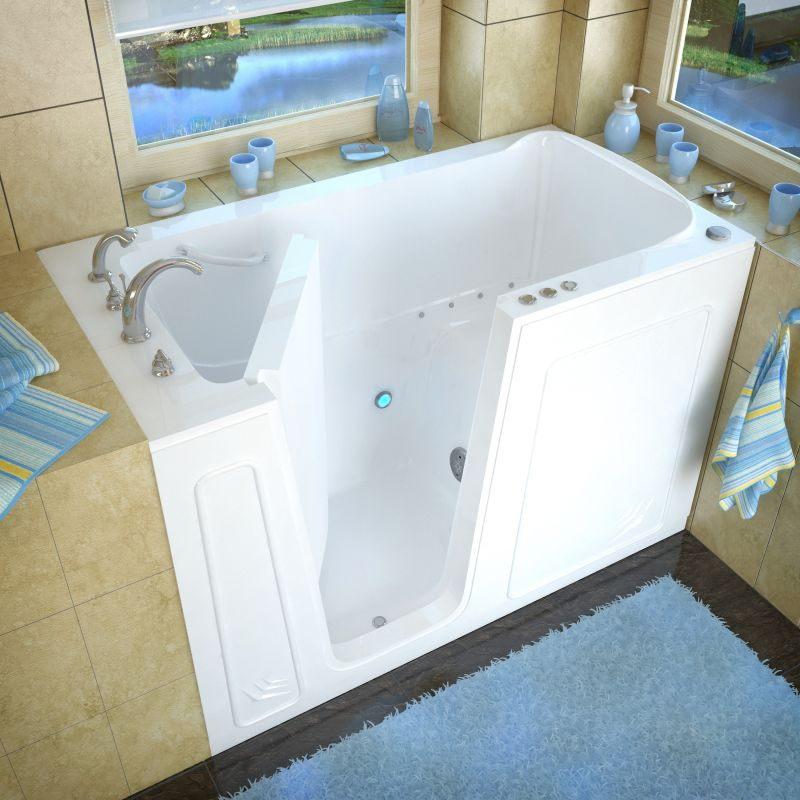 Avano AV3260LBA Biscuit Walk-In Tubs 60\