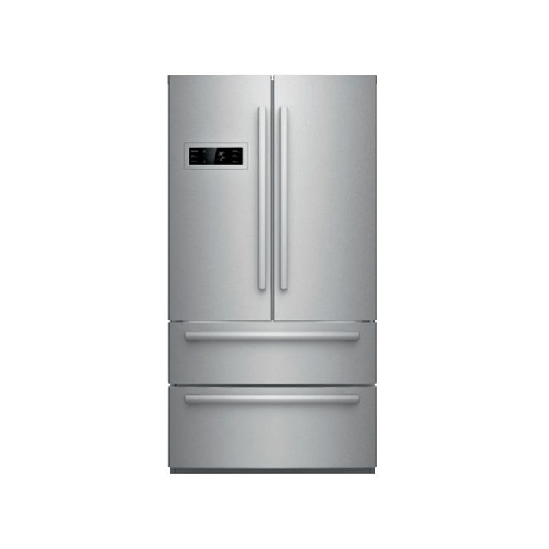 36 Inch Wide 21 Cu. Ft. French Door Refrigerator With Super Freeze