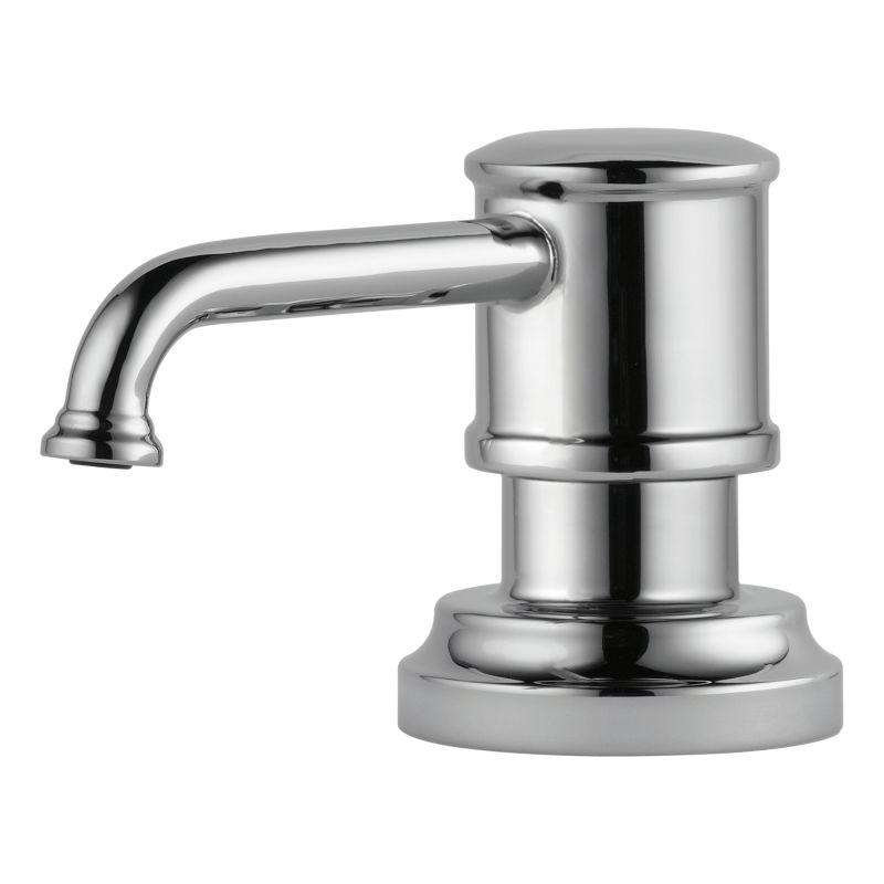 Brizo Rp75675pn Brilliance Polished Nickel Artesso 13 Oz Soap Lotion Dispenser Faucet Com
