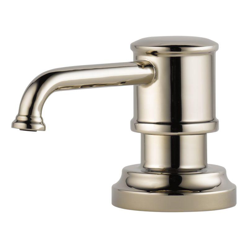 Brizo RP75675PN Brilliance Polished Nickel Artesso 13 Oz. Soap / Lotion  Dispenser   Faucet.com