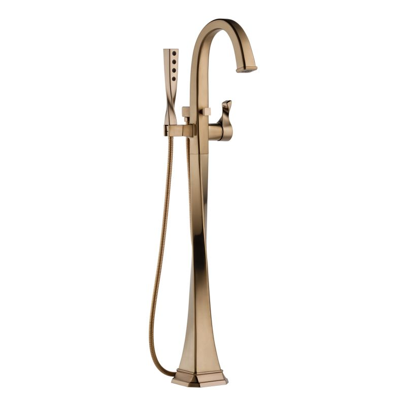 Brizo T70130-BN Brilliance Brushed Nickel Virage Floor Mounted Tub ...
