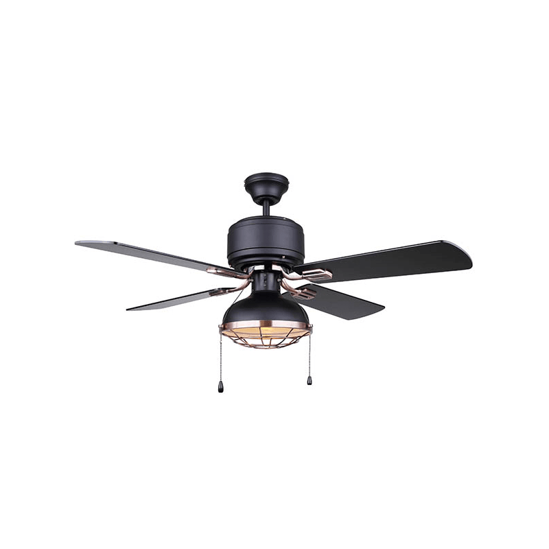 Canarm Cf424bkz Black Bronze Nar 42 4 Blade Ceiling Fan With Trim Lightingdirect Com