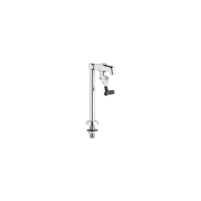 Chicago Faucets 712-ABCP Chrome Deck Mounted Water Dispenser Faucet ...