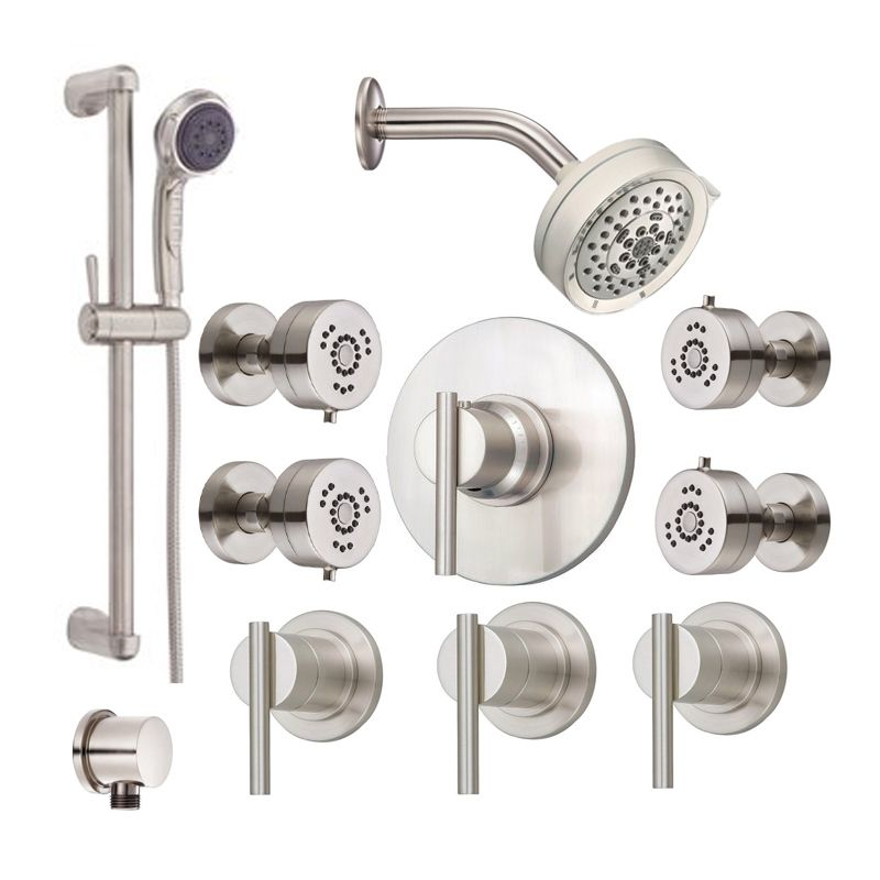 Genial Danze Parma Shower Bundle 1 BN Brushed Nickel Shower, Handshower And Valve  Trim Combo From The Parma Collection   Faucet.com