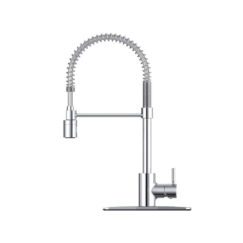 Danze Dh450188 Polished Chrome Foodie Pre Rinse High Arc Kitchen