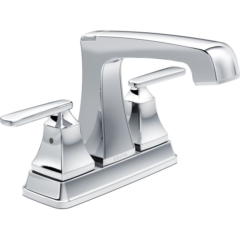 Delta 2564-TP-DST Chrome Ashlyn Centerset Bathroom Faucet with Pop ...