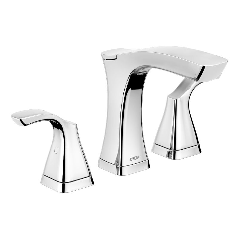 Delta PNMPUDST Brilliance Polished Nickel Tesla Centerset - Delta bathroom products