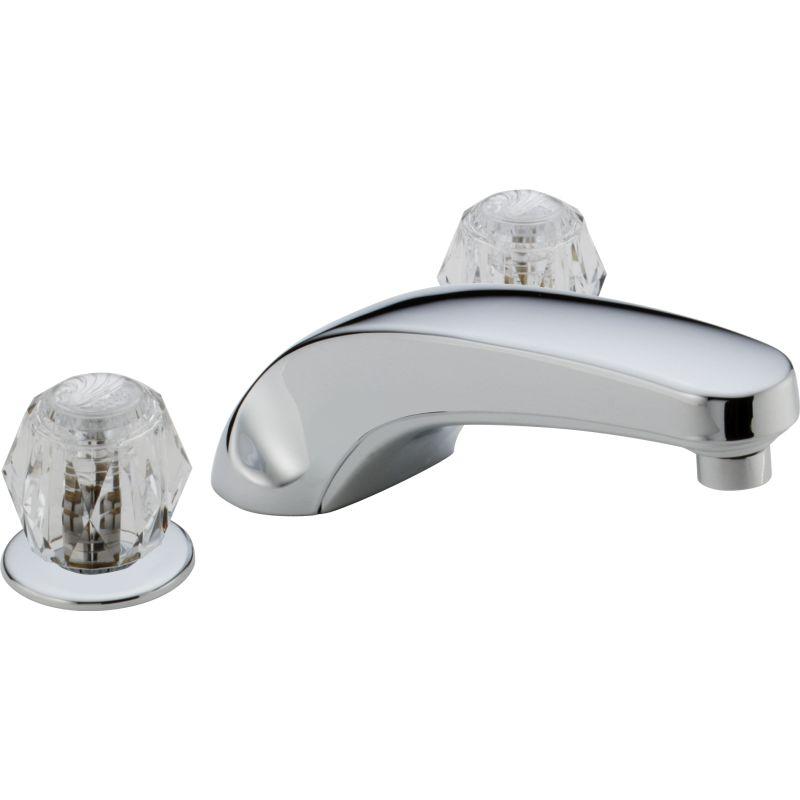 Delta T2710 Chrome Classic Roman Tub Faucet Trim - Faucet.com