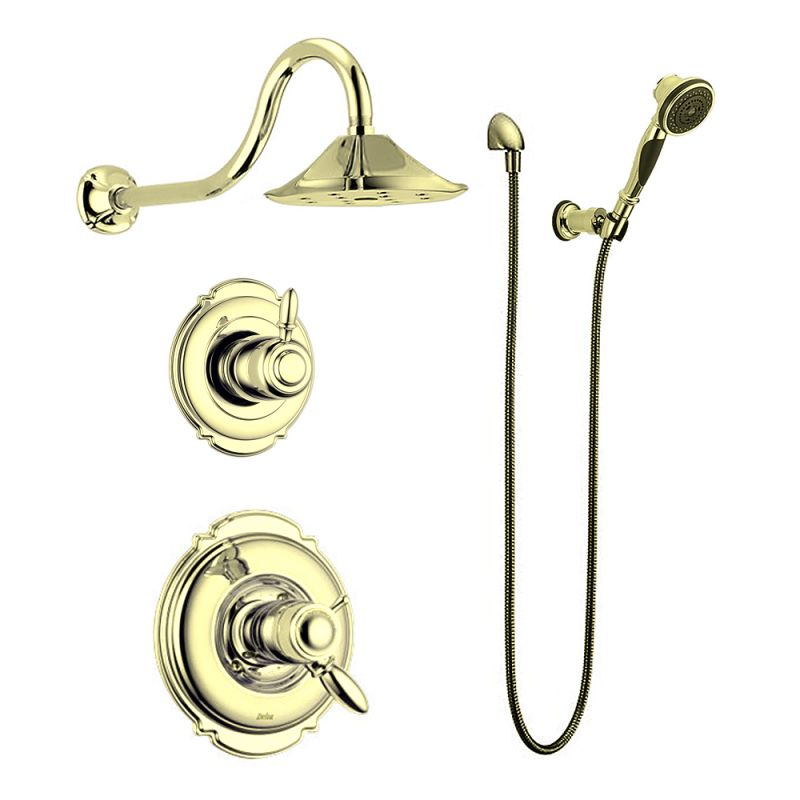 Delta Victorian TempAssure Shower Package SS Brilliance Stainless ...