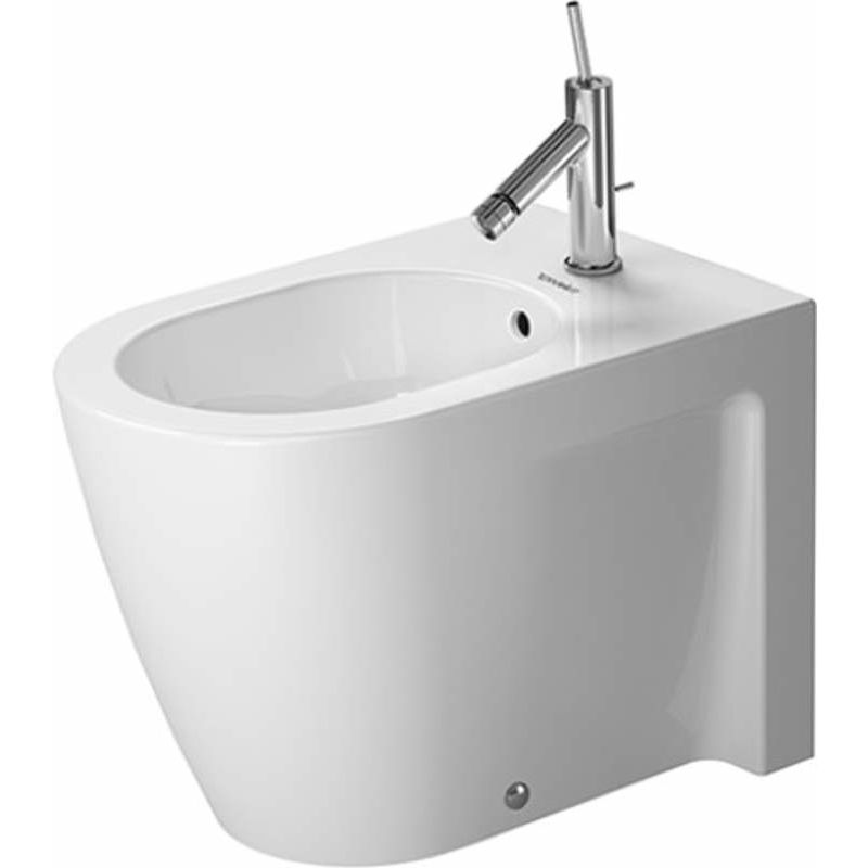Duravit 2255100000 White Starck 2 Free Standing Elongated Horizontal ...