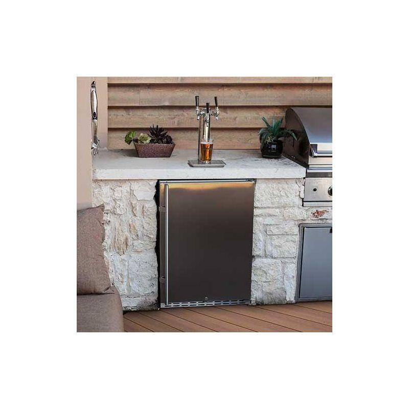 Kitchen Island Kegerator undercounter kegerator units | built-in keg coolers