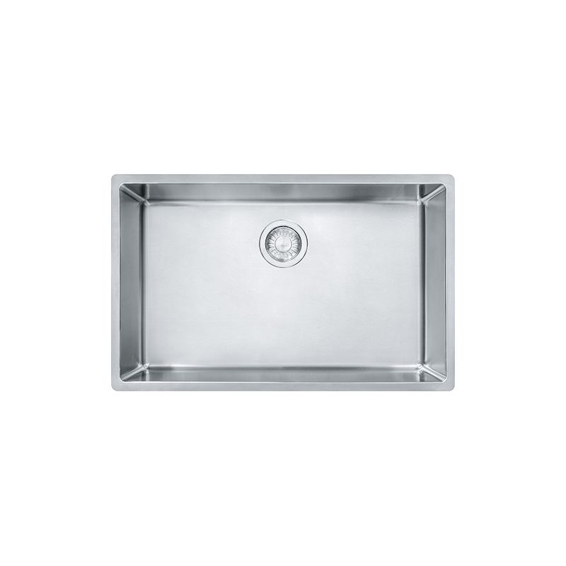 Franke cux11027 stainless steel cube 28 12 single basin undermount franke cux11027 stainless steel cube 28 12 single basin undermount kitchen sink faucet workwithnaturefo