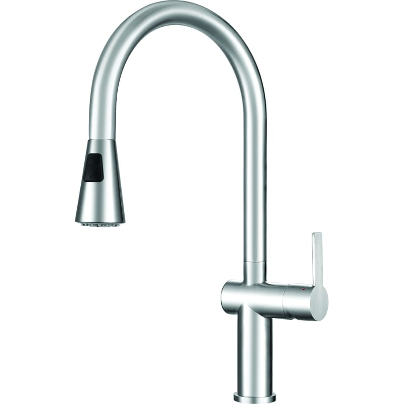 Franke FF20750 Stainless Steel Bern Pull-Down Spray Kitchen Faucet ...