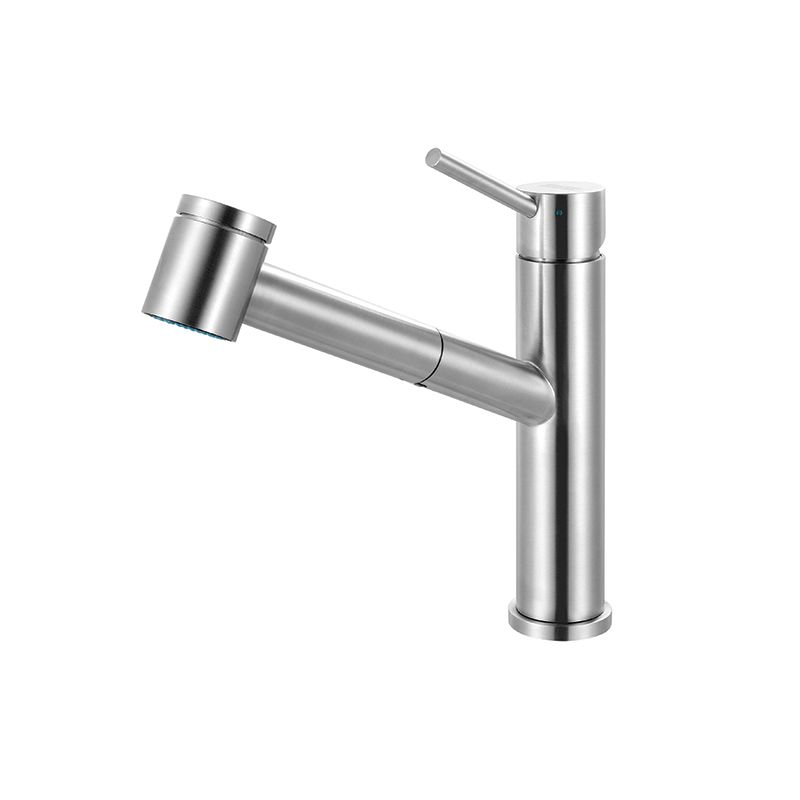 Franke FFPS3450 Steel Steel High Arc Pullout Spray Bar Faucet   Faucet.com