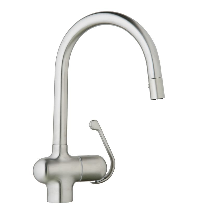 Grohe 32245SD0 Stainless Steel Ladylux Pro Pull-Down High-Arc ...