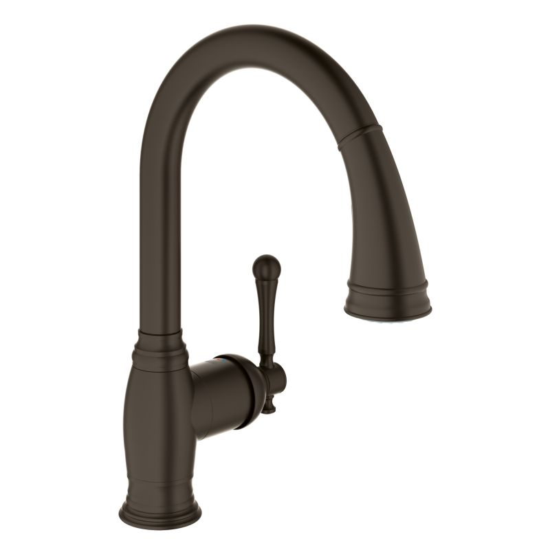 Grohe 33870DC2 SuperSteel Bridgeford Pull-Down Spray Kitchen Faucet ...