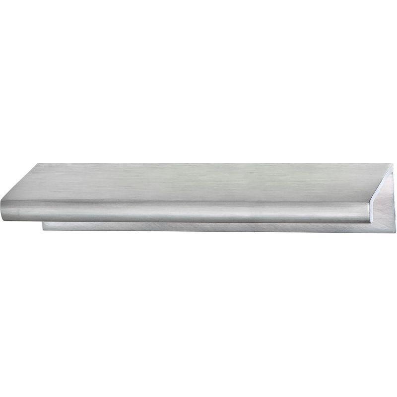 Hafele 103.20.442 Satin Chrome Tab 3 Inch Center To Center Finger Cabinet  Pull   PullsDirect.com