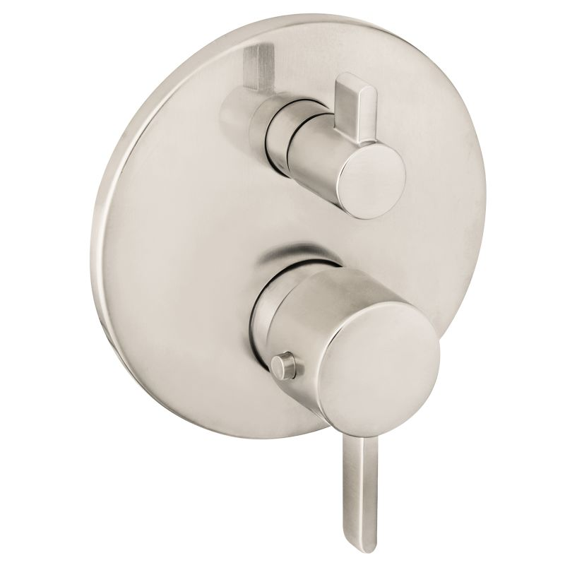 Hansgrohe 04231000 Chrome Ecostat Thermostatic Valve Trim with ...