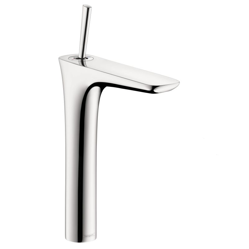 Hansgrohe 15072001 Chrome PuraVida 1.2 GPM Single Hole Bathroom Faucet With  EcoRight, Quick Clean, And ComfortZone Technologies   Less Drain Assembly  ...