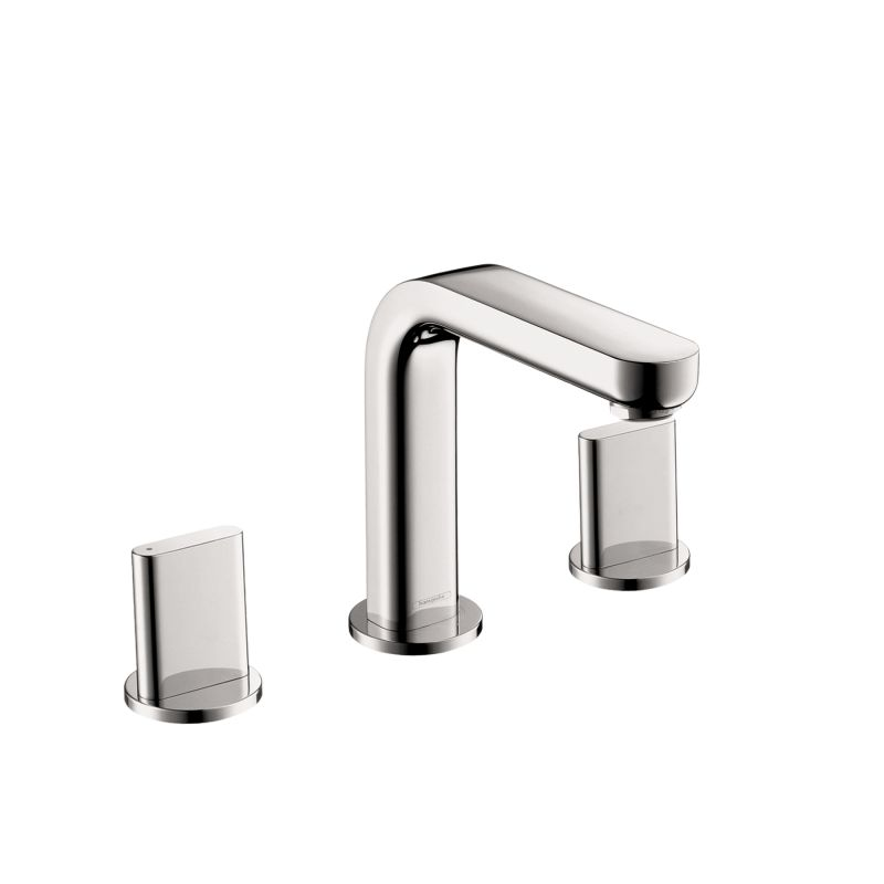 Hansgrohe 31063001 Chrome Metris S 1.2 GPM Widespread Bathroom ...