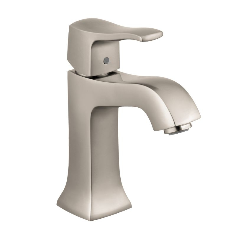 Hansgrohe 31075821 Brushed Nickel Metris C 1.2 Single Hole Bathroom ...
