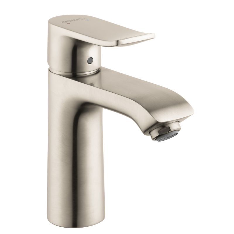faucet assembly brushed arc brantford drain dp handle bathroom two faucets ac moen with high nickel