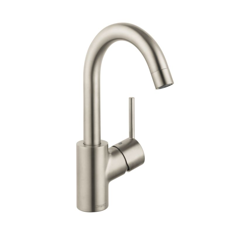 Hansgrohe 32070821 Brushed Nickel Talis S Single Hole Bathroom ...