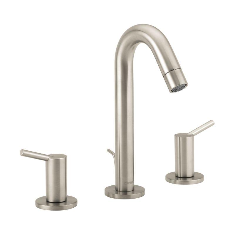 Hansgrohe 32310821 Brushed Nickel Talis S Widespread Bathroom Faucet