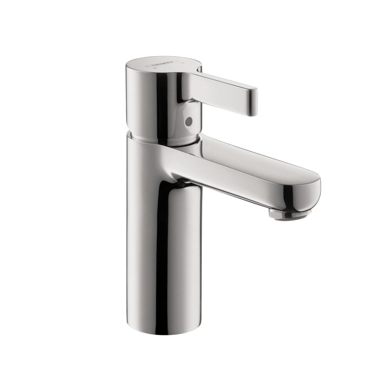 Hansgrohe 04531000 Chrome Metris S Single Hole Bathroom Faucet with ...