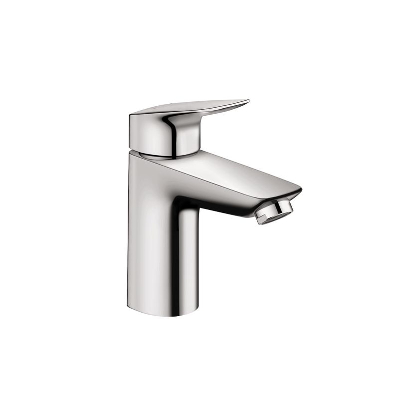 Hansgrohe 71100821 Brushed Nickel Logis Single Hole Bathroom Faucet ...