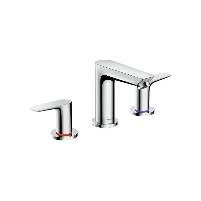 Hansgrohe 71733001 Chrome Talis E 1.2 GPM Widespread Bathroom Faucet ...