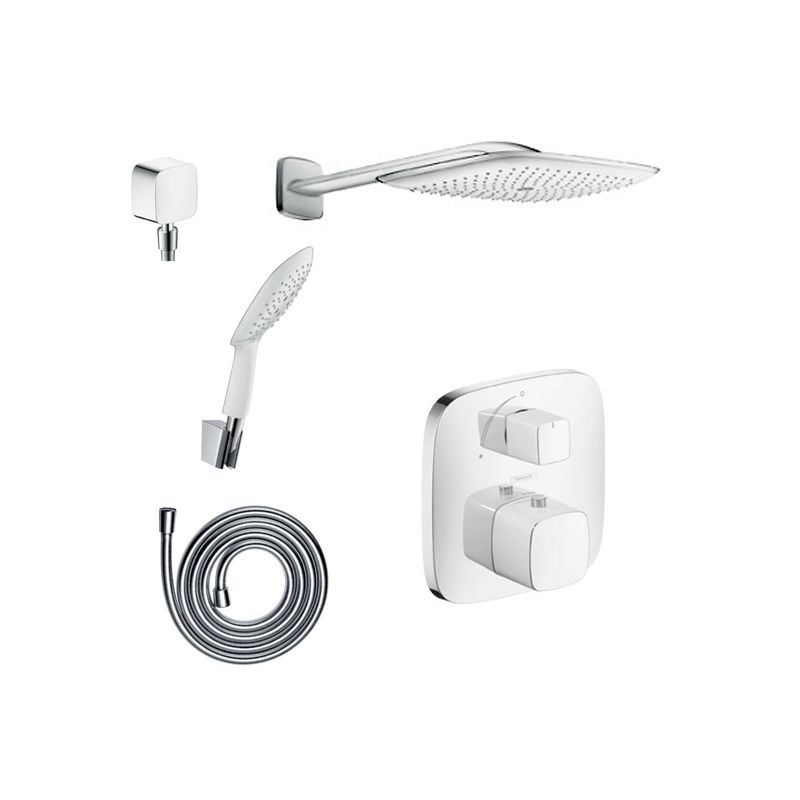Hansgrohe undefined Chrome PuraVida Shower Faucet with Thermostatic ...