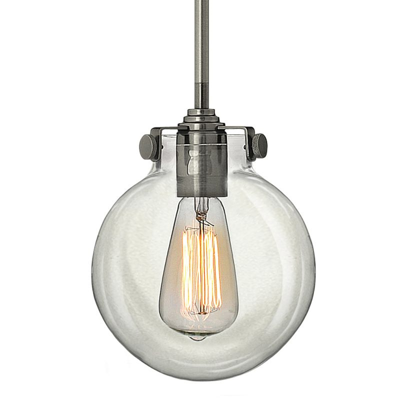 small pendant lighting. wonderful pendant hinkley lighting 3128an antique nickel 1 light indoor mini pendant with  clear globe shade from the congress collection  lightingdirectcom in small