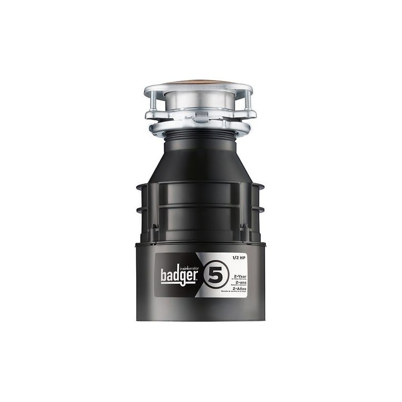 Badger 5 Garbage Disposal 1//2 HP
