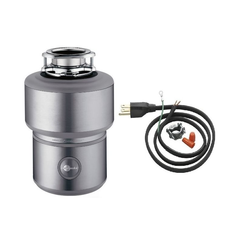 InSinkErator Excel Without Power Cord Evolution 1 HP Garbage Disposal With  Soundseal Plus Technology   FaucetDirect.com