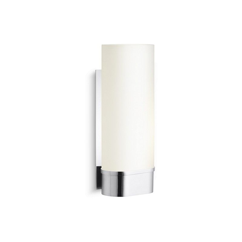 Brushed Nickel One Wall Sconce