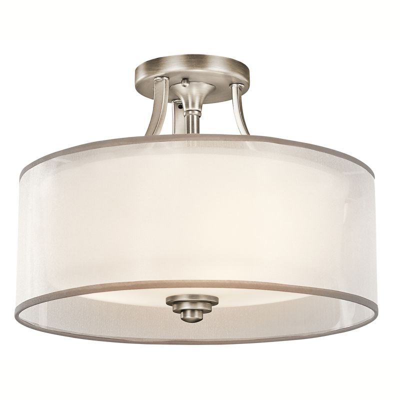 Kichler 42386MIZ Mission Bronze Lacey 3 Light 15\
