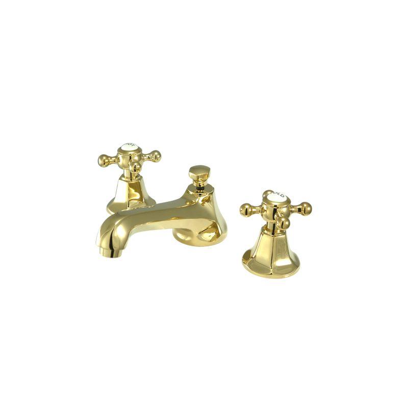 Kingston Brass KS4464BX Polished Chrome / Polished Brass ...