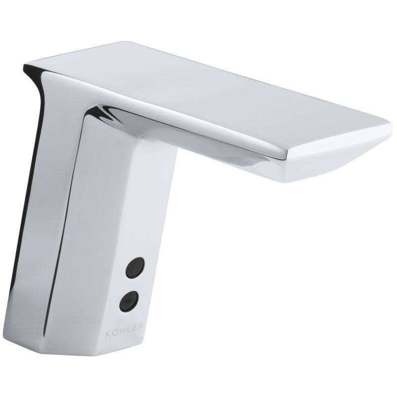 Kohler Single Hole Bathroom Faucet kohler k-13466-vs vibrant stainless touchless single hole bathroom