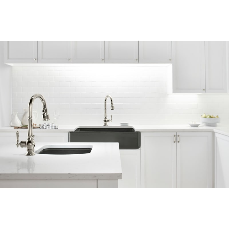 Kohler K 99261 Vs Vibrant Stainless Artifacts Pullout Spray High Arch 16 Kitchen Faucet With Promotion Masterclean And Docknetik Technologies Faucetdirect Com