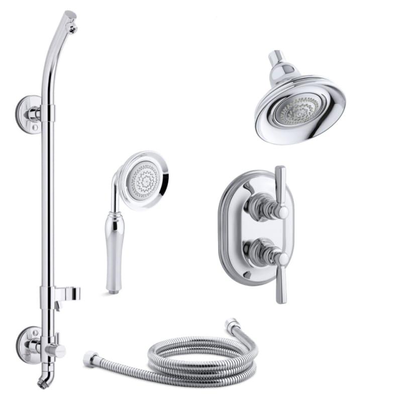 Merveilleux Kohler K BANCROFT SMS21HR 4E 2BZ Oil Rubbed Bronze (2BZ) Bancroft  Thermostatic HydroRail Eco Shower System With Multi Function Shower Head,  Hand Shower, ...