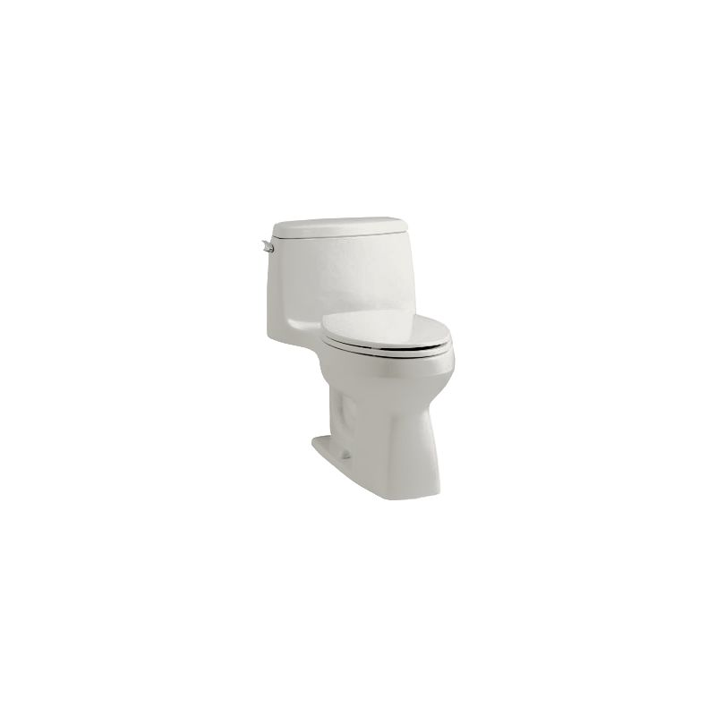 Kohler K-3811-0 White Santa Rosa 1.6 GPF One-Piece Elongated ...