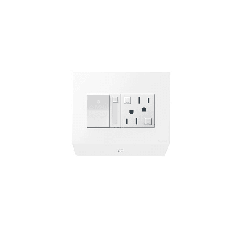 Legrand APCB6W2 White adorne Lighting Control Box with Paddle Dimmer and  15A GFCI   LightingDirect comLegrand APCB6W2 White adorne Lighting Control Box with Paddle  . Adorne Lighting Control. Home Design Ideas