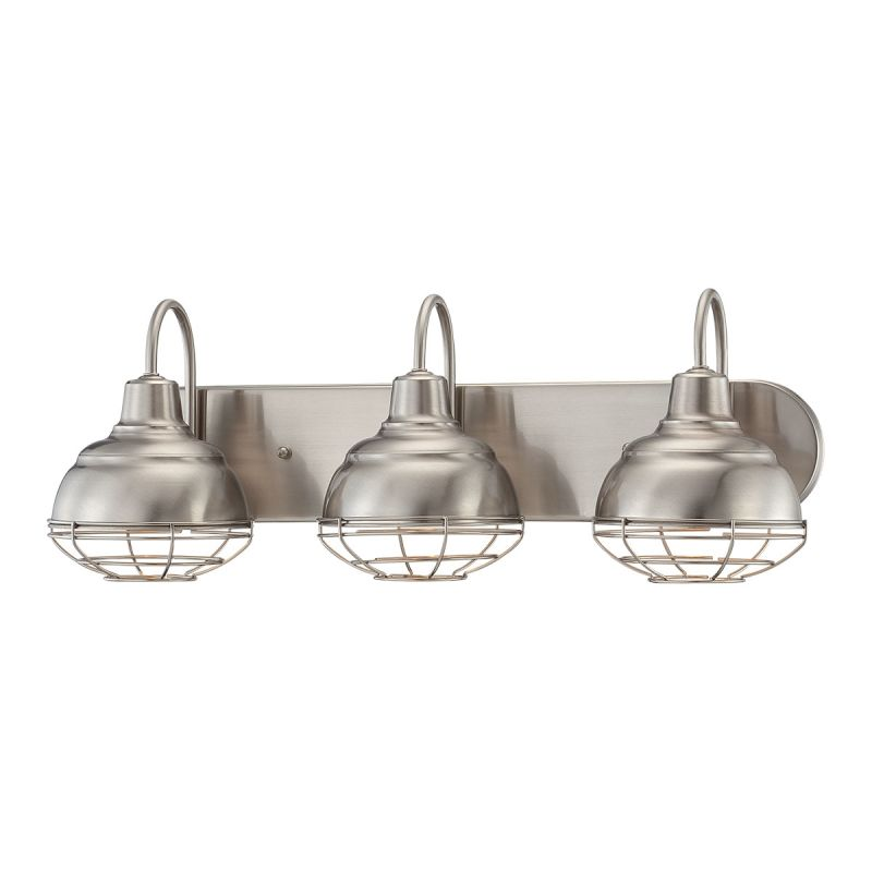 Millennium Lighting 5423 RBZ Rubbed Bronze Neo Industrial 3 Light Bathroom  Vanity Light   LightingDirect.com